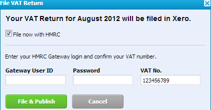 VAT return 4